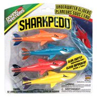 Prime Time Toys Sharkpedo Diving Masters Underwater Gliders Pool Toy
