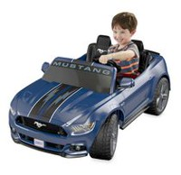 Fisher-Price Power Wheels Smart Drive Mustang - Boy