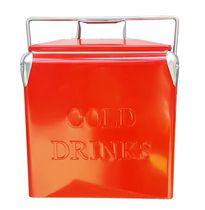 Permasteel Patio Cooler 14QT - Red