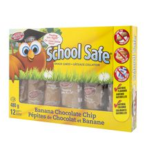 School Safe Banana Chocolate Chip Snack Cakes