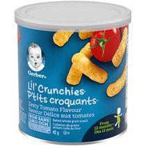 GERBER® P'TITS CROQUANTS(MD) Délice tomates, coll. pour tout-petits 42 g
