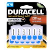 Duracell Hearing Aid Battery - Size 675