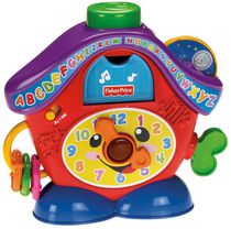 Fisher-Price Laugh & Learn Peek-a-Boo Cuckoo - French Edition