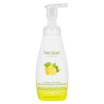 Live Clean Foaming Hand Soap Lemon Mint