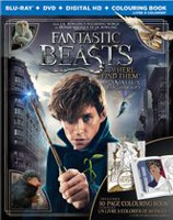 Fantastic Beasts And Where To Find Them (Blu-ray + DVD + Digital HD + Colouring Book) (Walmart Exclusive) (Bilingual)