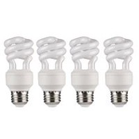 Great Value Compact Fluorescent Light T3 9W Soft White Bulb