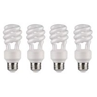 Great Value Compact Fluorescent Light T3 14W Soft White Bulb