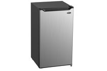 Danby Diplomat 4.4 Cubic Foot  Mini Fridge - Stainless Look With Chiller Section