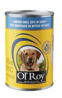 Ol'Roy London Grill Cuts in Gravy Dog Food