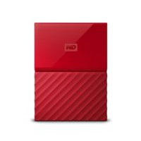 Disque dur portable My Passport WDBYNN0010BRD-WESN de Western Digital en rouge