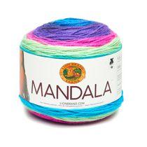 Lion Brand Yarn Mandala Troll 525-220 Classic Cake Yarn