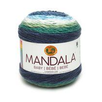 Lion Brand Yarn Mandala Baby Echo Caves 526-205 Baby Cake Yarn