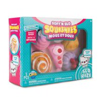 The Orb Factory Soft'n Slo Squishies Pastry Theme-1 Doll