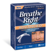 Breathe Right Nasal Strips Advanced 26's