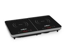 Salton Double Induction Cooktop, 1800W, ID1487