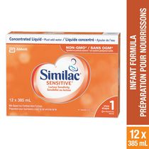 Similac Sensitive Sensibilité au lactoseLiquide concentré, 2 x 385mL