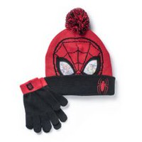 Spider Man Boys' Cold Weather Hat and Glove Set