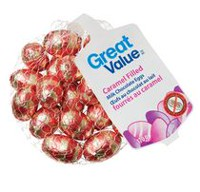 Great Value Caramel Filled Milk Chocolate Eggs