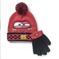 Disney Cars Cold Weather Boys Hat and Glove Set