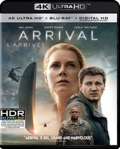 Arrival (4K Ultra HD + Blu-ray + Digital HD) (Bilingual)