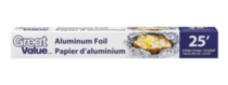 Le Papier D'Aluminium Great Value