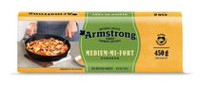 Armstrong 31% M.F. Medium Cheddar Cheese
