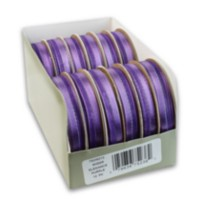 Offray 9mm Sheer Elegance Ribbon Purple