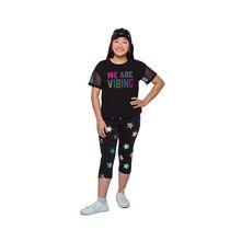 Girls Mini Pop Kids  We Are Vibing T-Shirt