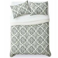 Mainstays Ogee Comforter Set Double