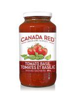 Canada Red sauce pour pâtes tomate et basilic