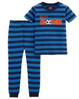 Child of Mine made by Carter's Infant Boys' Cotton  2-piece Pyjama -Brother 24 months