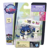 Littlest Pet Shop Pet Duo Pawsabilities Keena Catley & Honeybelle Catley