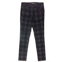 George Girls' Plaid Flocked Skinny Pants 7