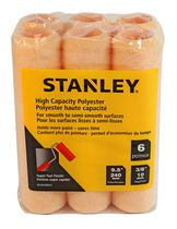 "Stanley 6-piece 3/8"" High Capacity Polyester Roller Cover"