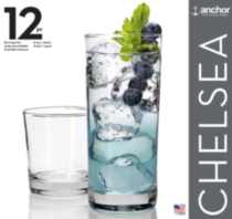 Chelsea 12 Pack Beverage Set