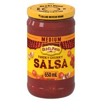 Old El Paso™ Thick 'n Chunky Medium Salsa Sauce