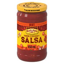 Old El Paso™ Thick 'n Chunky Hot Salsa Sauce
