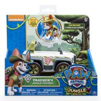 PAW Patrol Jungle Rescue Tracker™ Jungle Cruiser Toy Vehicle and Action Figure