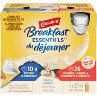 CARNATION BREAKFAST ESSENTIALS® Vanilla Ready to Drink Bottles