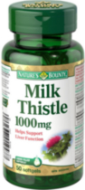 Nature's Bounty Milk Thistle 50 Softgels