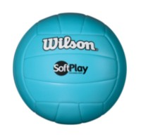 Ballon de volleyball Wilson Softplay - bleu