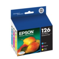 Epson 126 High-Capacity Colour Ink Cartridge Multi-Pack