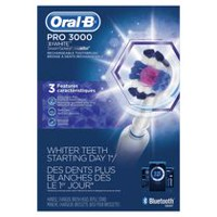 Oral-B Pro 3000 Power Rechargeable Electric Toothbrush with Bluetooth Connectivity Powered by Braun