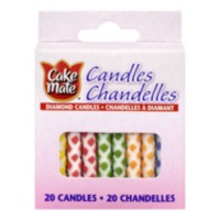 Chandelles à diamant Cake Mate
