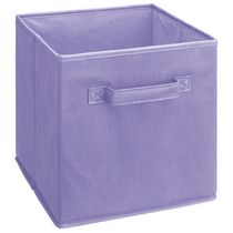 Fabric Drawer - Light Purple