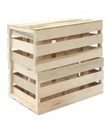 JAB Recreational Products Inc Hardwood Crates
