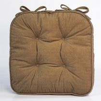 Home Trends Supersoft Chairpad Tan