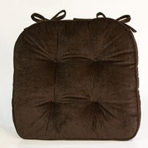 Home Trends Supersoft Chairpad Brown