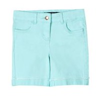 George Girls' Denim Bermuda Shorts Turquoise 6