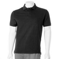 George Men's Short Sleeved Polo Black S
